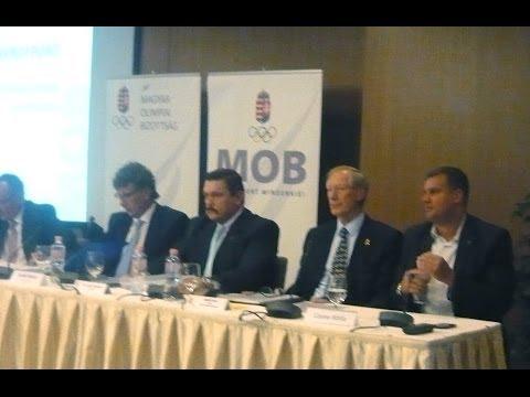 Magyar Olimpiai Bizottság 2014. évi közgyűlése - alelnök választás ... 3.