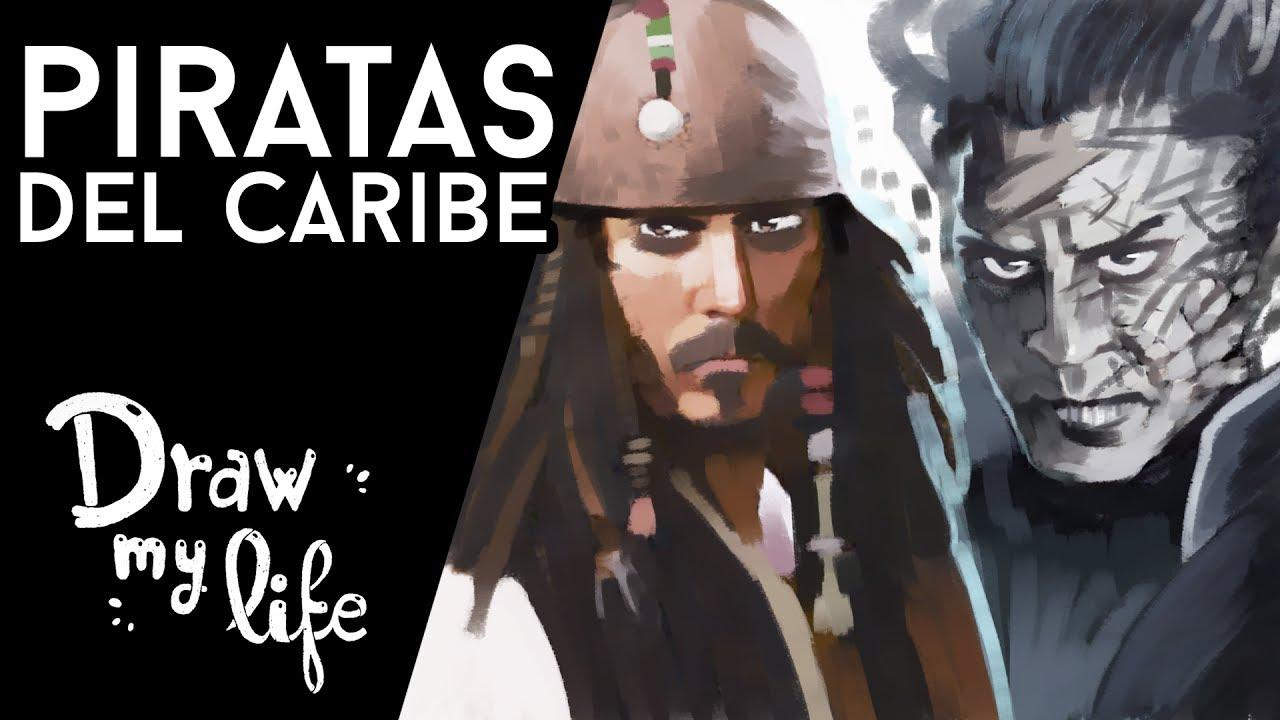 PIRATAS DEL CARIBE ☠ - Draw My Life