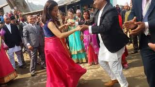 Nepali Wedding Traditional Music With Dance