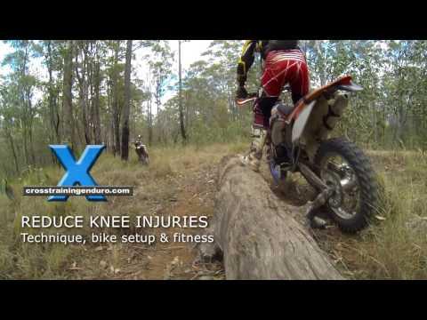 REDUCING KNEE INJURIES: enduro, motocross & offroad riding