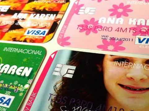 Credit Card Invitation Invitación Tarjeta De Crédito
