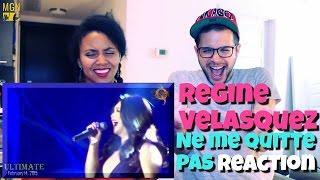 REGINE VELASQUEZ - Ne Me Quitte Pas/If You Go Away Reaction