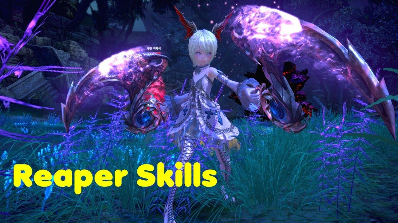Tera Reaper Skills