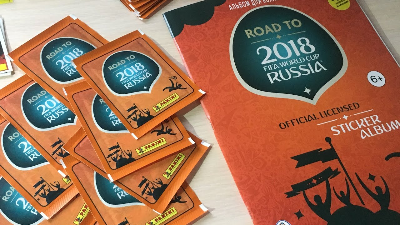 Купить чемпионат мира футбол наклейки на дорога panini 2018