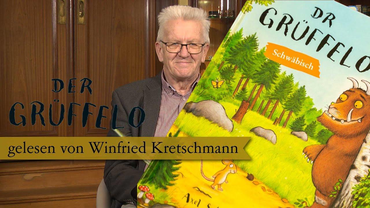 dr gruffelo gelesen von winfried kretschmann auf schwabisch