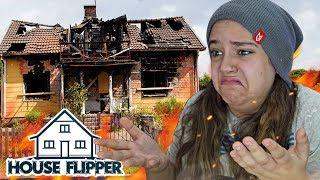 MINHA CASA PEGOU FOGO! - House Flipper