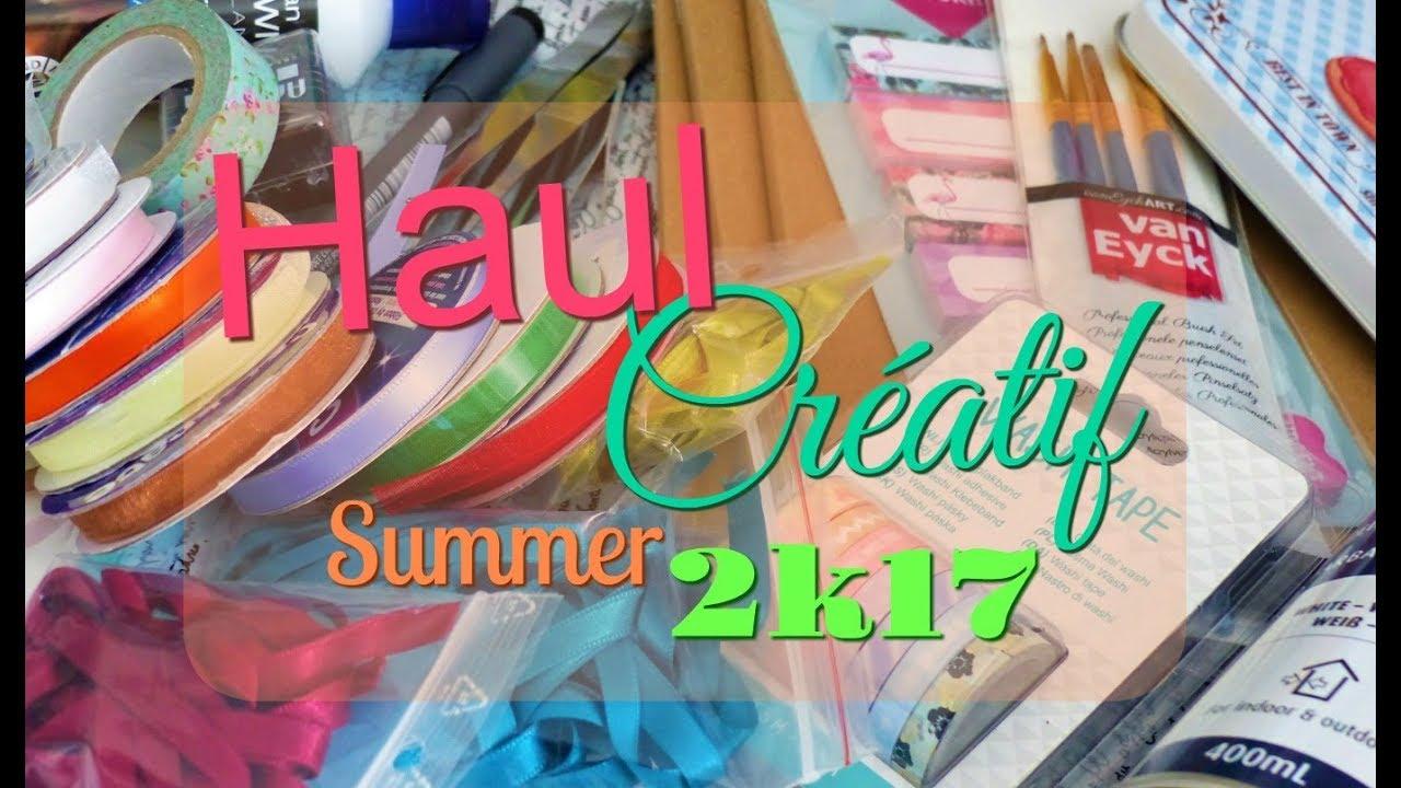 haul cr atif summer 2k17 action tissu du renard. Black Bedroom Furniture Sets. Home Design Ideas