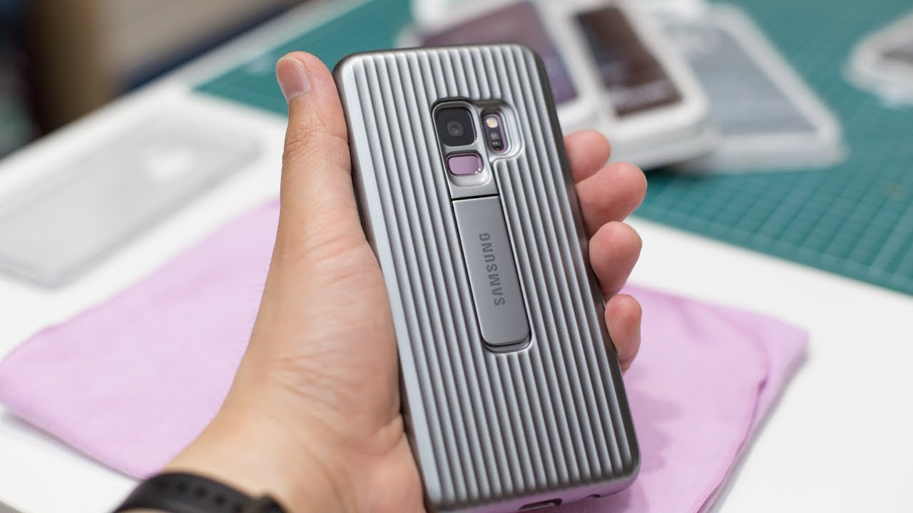 wholesale dealer 807cb 91466 All About Galaxy S9 Covers - Protective Standing Cover