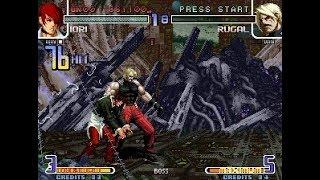 [TAS] The King Of Fighters 2002 - Omega Iori Yagami