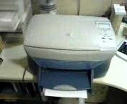 hp psc 750 test youtube. Black Bedroom Furniture Sets. Home Design Ideas