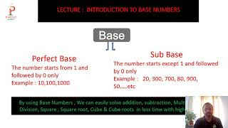 Chapter 1 || BASE AND COMPLIMENTARY NUMBERS || PARIJAT ACADEMY