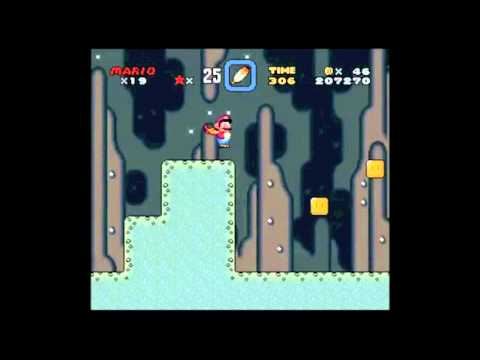 Super Mario World Snes Walkthrough Donut Plains 2 Secret Exit
