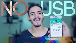 Como Transferir Arquivos sem Cabo USB (iOS e Android) -