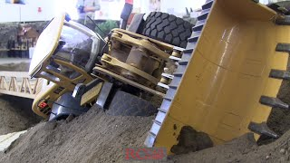 RC TRUCKS a. CONSTRUCTION MACHINES at RCTKA April 2016 - part 2