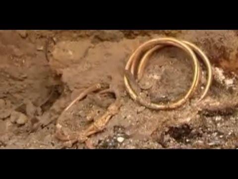 Golden treasure unearthed in Bulgaria