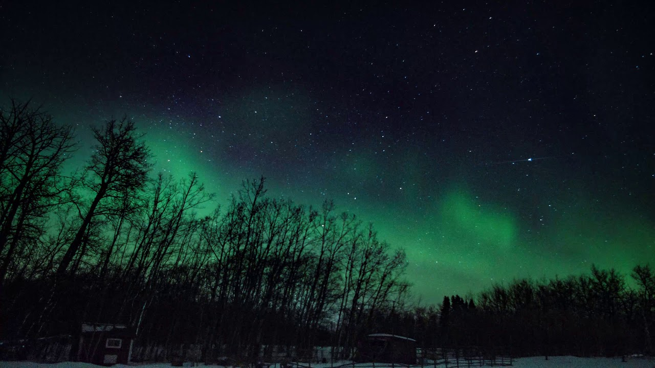 Northern lights above alberta march 2018 youtube northern lights above alberta march 2018 malvernweather Images