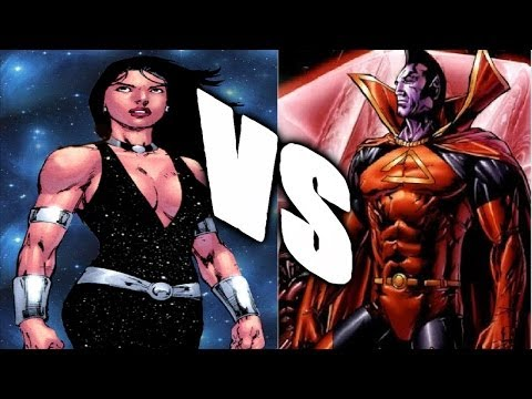 SECTION XIX FANTASY FIGHT-(Donna Troy Vs Gladiator)