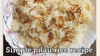 Vegetable Pilau rice recipe - very quick and simple to make