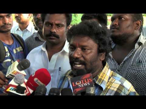 Actor Karunas caste play - I am not a cobbler...!! - Red Pix