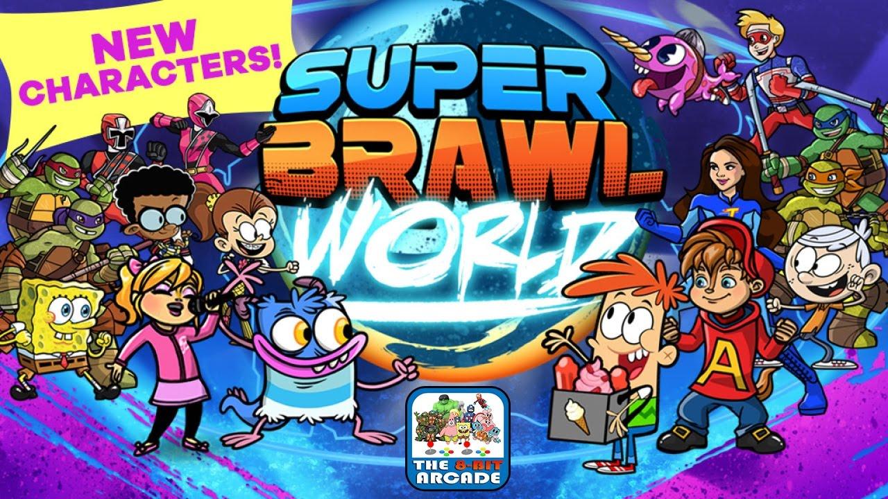 nickelodeon super brawl world
