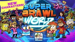 Video Super Brawl World - Here Comes A New Challenger: Bunsen & Mikey (Nickelodeon Games) download MP3, 3GP, MP4, WEBM, AVI, FLV Agustus 2018