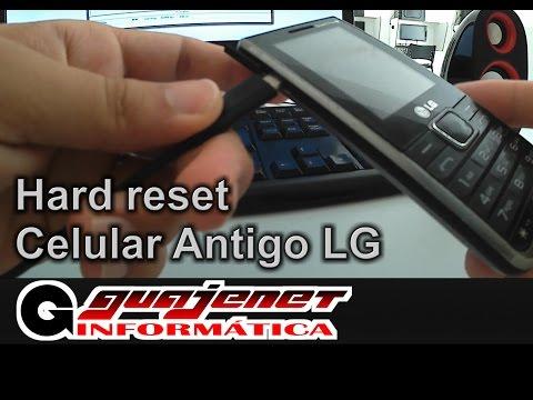 Reset de celular LG antigo - Esqueceu a senha de desbloqueio