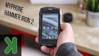 myphone hammer iron 2 test wytrzymałości   techmaniak pl