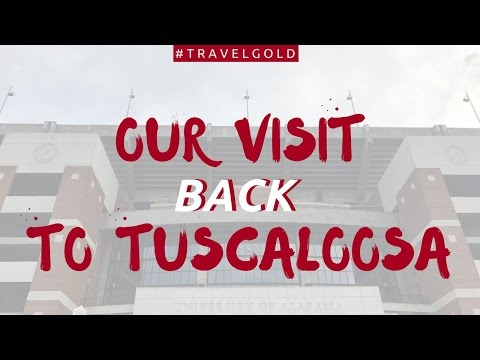 Our experience visiting Tuscaloosa, Alabama! (Roll Tide)