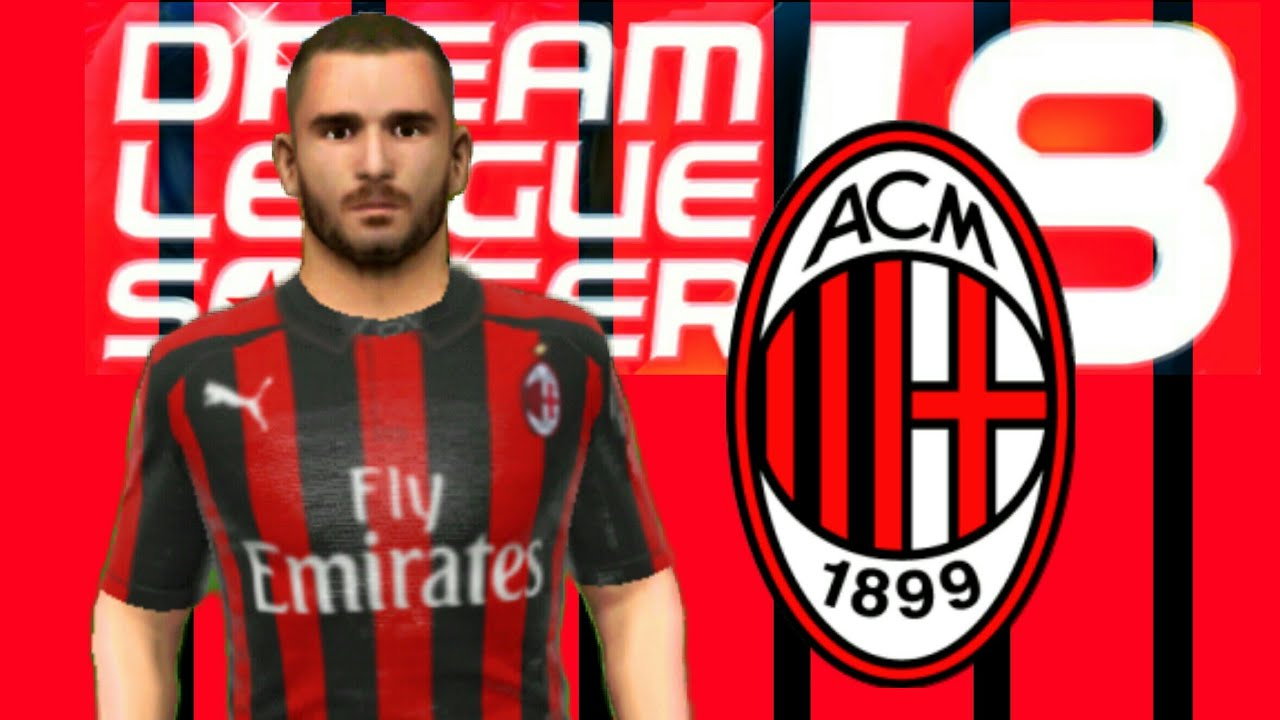 best sneakers f5402 c8881 How To Hack AC Milan 2018/2019 All Players 100 Dream League Soccer 2018 NEW  UPDATE + ELITE DIVISION