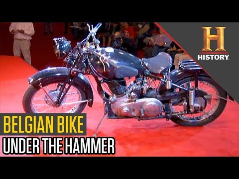 Vintage Motorbike At The Auction | Pawn Stars