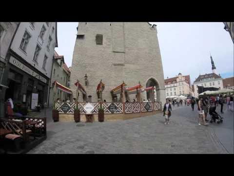 The Old City of Tallinn Estonia June 2017
