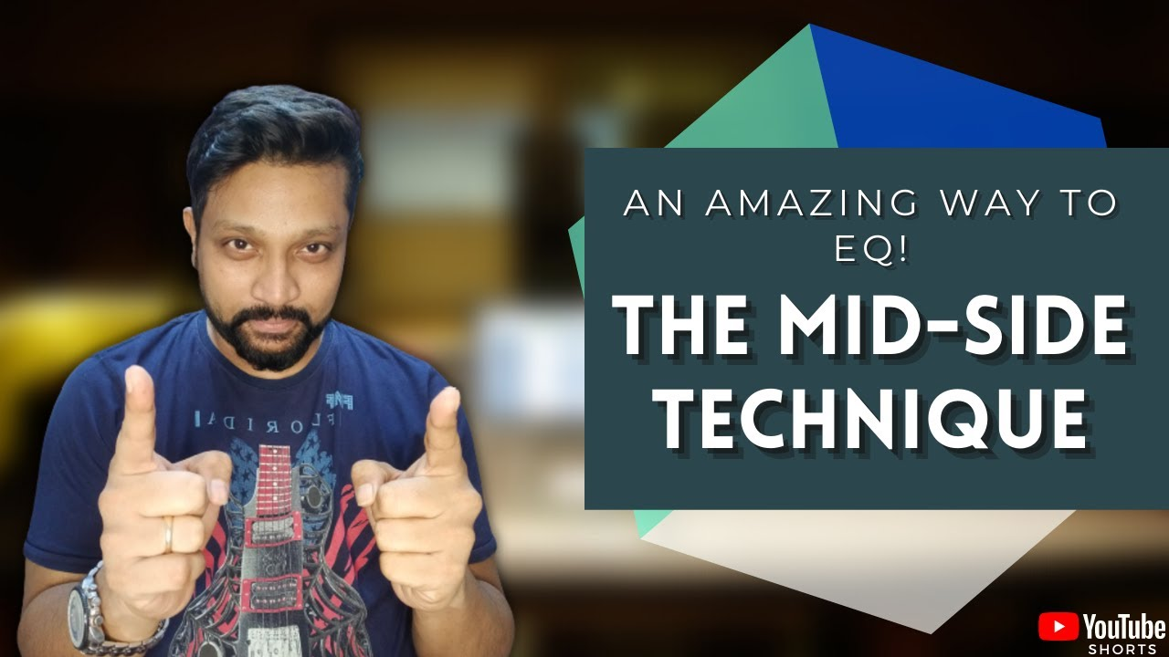 Best Mastering tip | What is the Mid Side EQ? Mix both mids and sides! | EQ Tutorial | ProTools tips