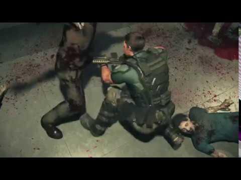 Resident Evil : Vendetta - Chris and Leon vs zombies