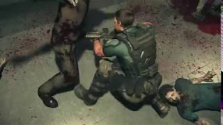 Resident Evil : Vendetta - Chris and Leon vs zombies