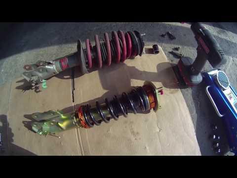 8th Gen Honda Civic Si Yonaka Coilovers Install