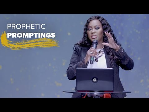 Prophetic Promptings | Dr. Cindy Trimm | The Anointing
