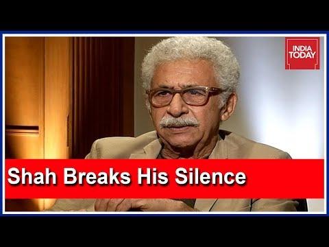 Naseeruddin Shah Breaks His Silence On The Intolerance Row |  Exclusive With Rajdeep Sardesai