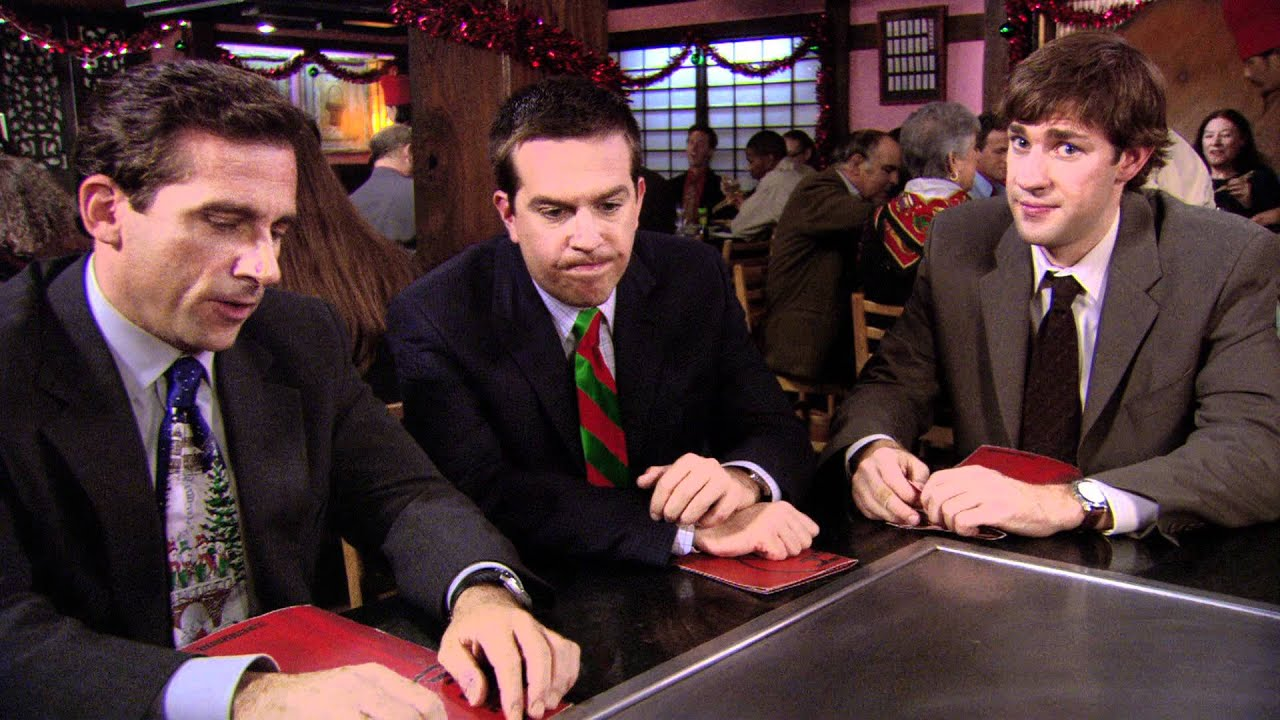 The Office - A Benihana Christmas, Pt. 1 & 2 - YouTube