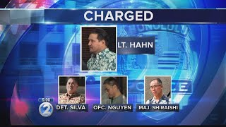 Third police officer arrested this week in alleged corruption investigation involving Kealohas