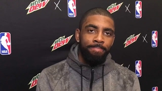 Kyrie Irving gets mad at reporter for Flat Earth Questions
