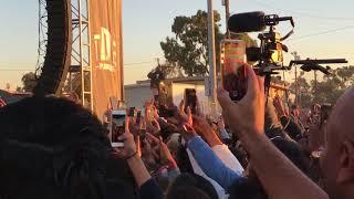 Rihanna and Kendrick Lamar TDE Concert in Watts