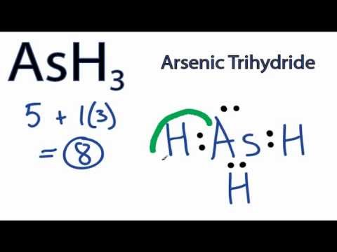 ash3 lewis structure how to draw the lewis dot structure for  ash3 lewis structure how to draw the lewis dot structure for arsenic trihydride youtube