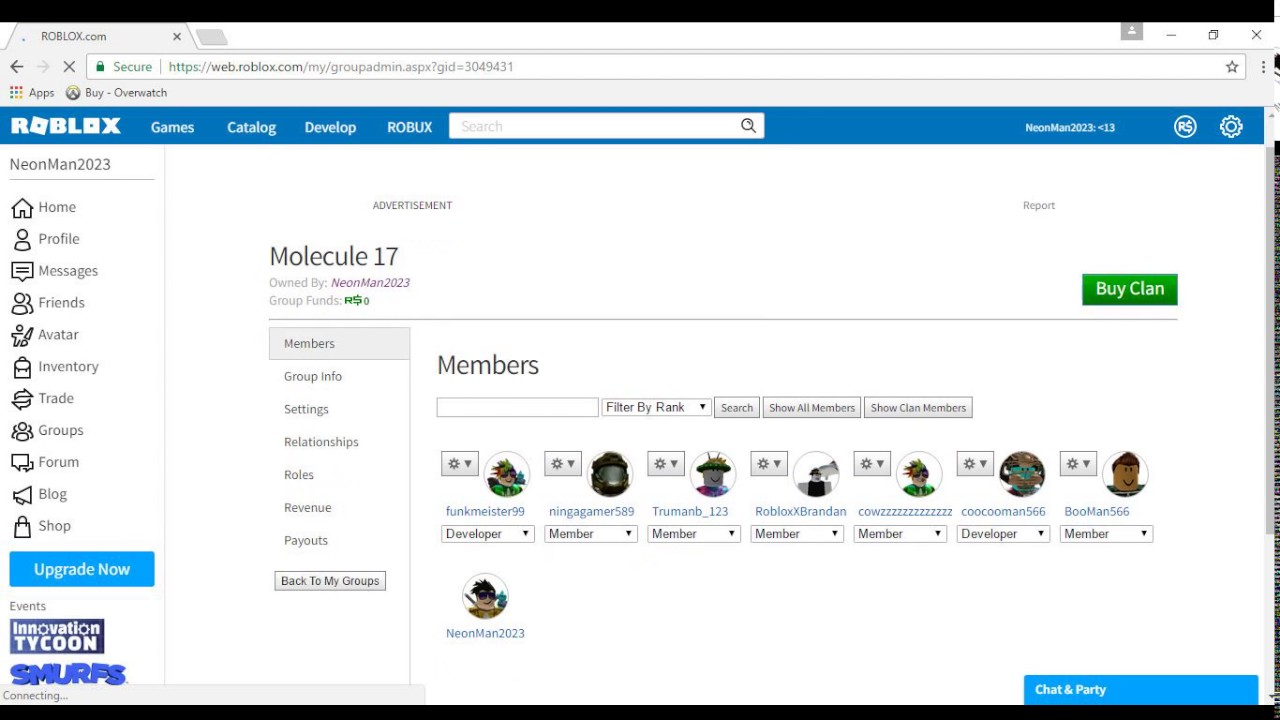 How To Create A Group On Roblox On Computer