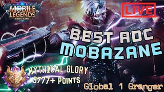 Top 1 GLOBAL Granger | 4,000 MYTHICAL POINTS | Mobile Legends