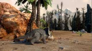 Films from DinoPark - Triceratops