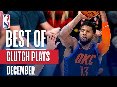 NBA's Best Clutch Plays | December 2018-19 NBA Season