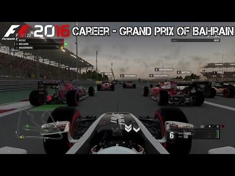 F1 2016 - Career - Bahrain Grand Prix