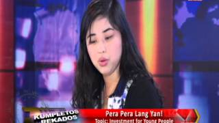 Pera Pera Lang Yan - Investment for Young People