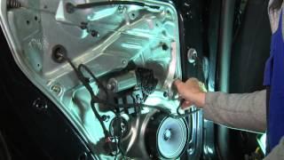 VW Passat.Golf. Замена заднего стеклоподъемника. Часть 2 Сборка.(, 2014-10-12T21:49:12.000Z)