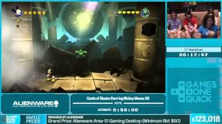 Castle of Illusion HD by thenitnat in 40:59 - Summer Games Done Quick 2015 - Part 24